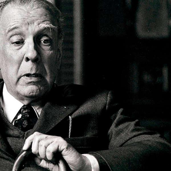 The writer Jorge Luis Borges
